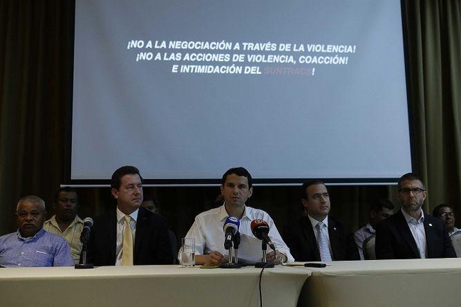 Empresarios culpan a Suntracs de paralización en proyecto de Minera Panamá