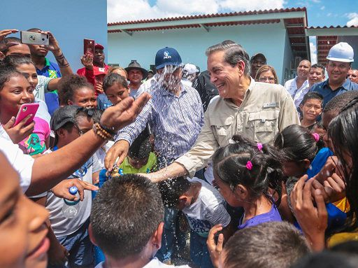 Visita a la frontera: Cortizo habla de migración y combate al narcotráfico con generales colombianos