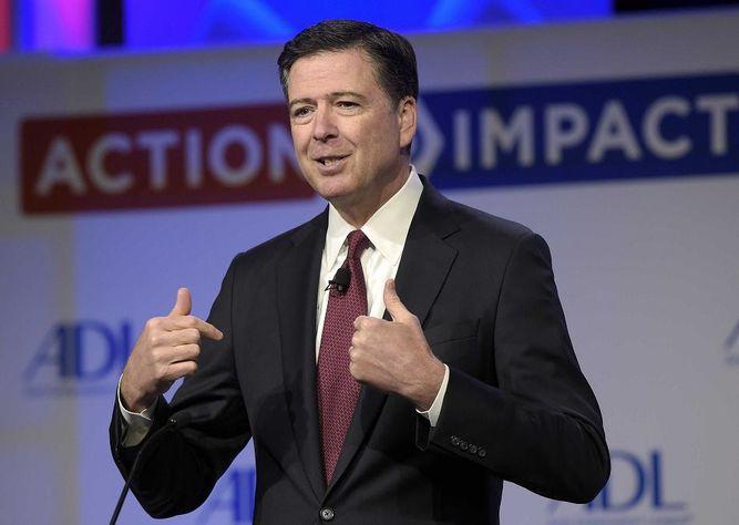 El exdirector del FBI James Comey dará testimonio público ante el Senado