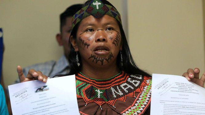 Dirigentes ngäbes niegan retención de viceministro de Asuntos Indígenas
