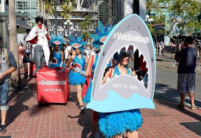 El fenómeno 'Sharknado' regresa con su quinta entrega