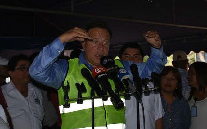 Varela se compromete a controlar las pandillas en Colón