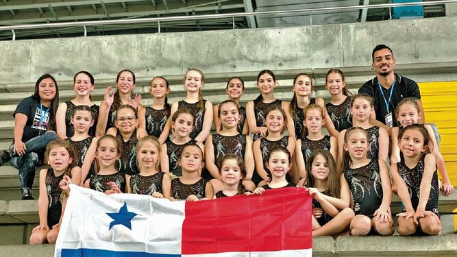 El Club Jump de Panamá participó de la International Gymnastics Cup 2019