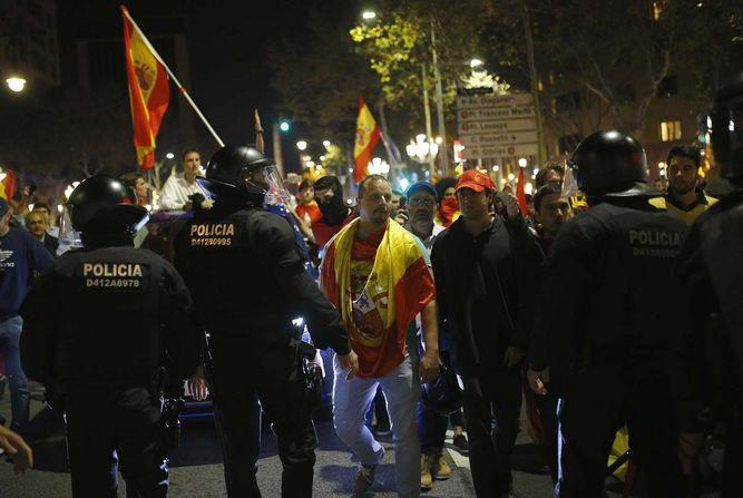 Jefatura de policía catalana pide 'neutralidad' a los agentes