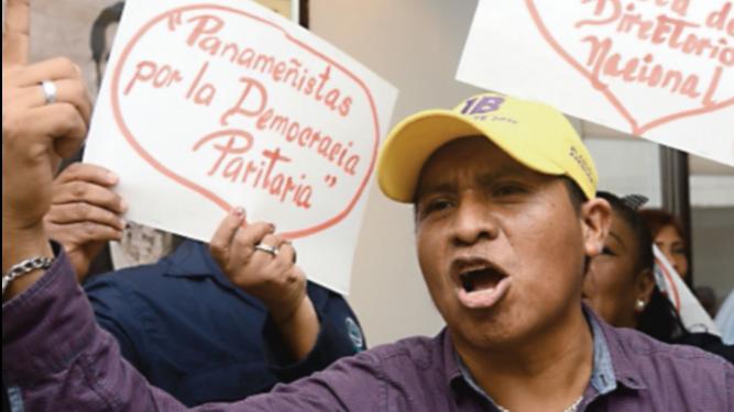 Panameñistas exigen renovación de la cúpula
