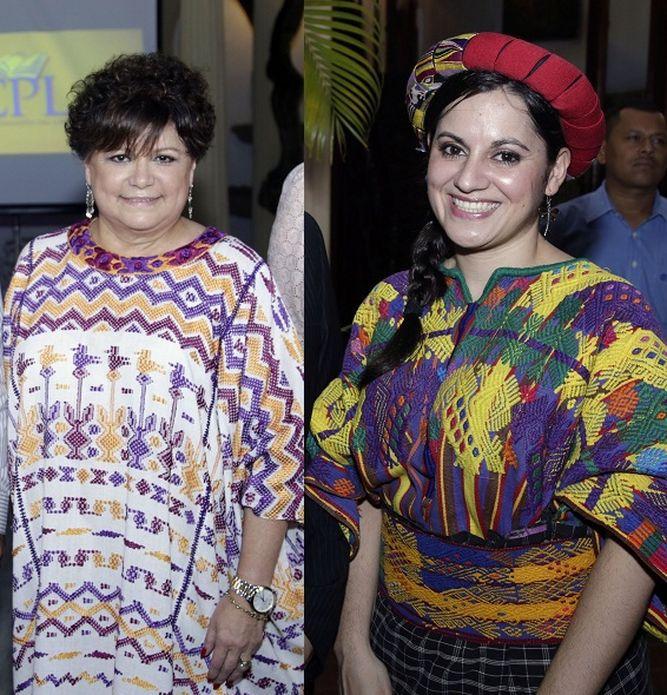 Un güipil 100% guatemalteco en la Feria del Libro de Panamá