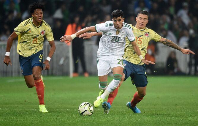 Argelia golea a Colombia