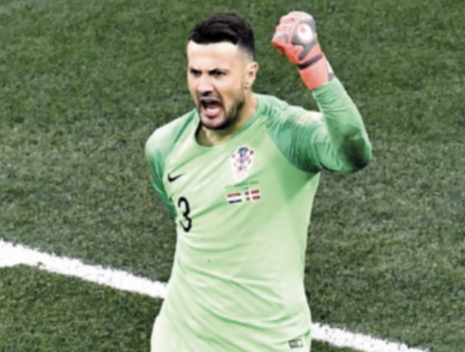 Portero croata Subasic anuncia su retiro de la selección
