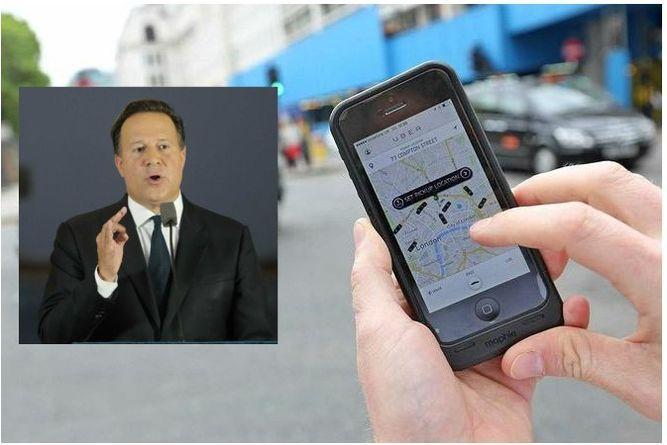 Presidente Varela: es un error de Uber cobrar en efectivo