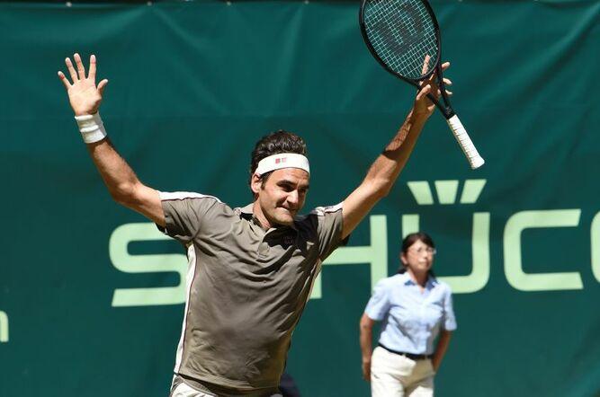 Roger Federer se corona por décima vez en Halle