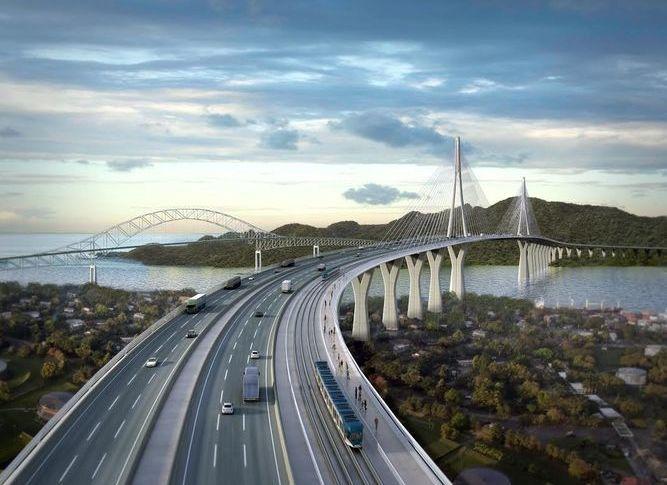 Seis empresas interesadas en construir cuarto puente sobre el Canal de Panamá