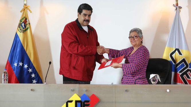 Poder electoral proyecta para julio elección de constituyente en Venezuela