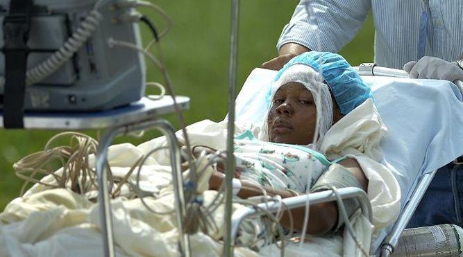 Mujer que sufrió accidente cuenta que sobrevivió por su hijo