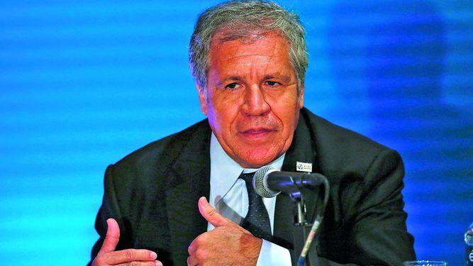 Almagro dijo que renunciará si hay libertad en Venezuela