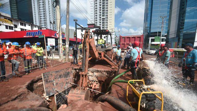 No habrá agua este martes; Idaan reparará tubería en vía Brasil