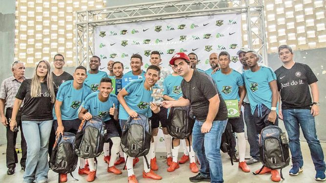 Finalizó la liga intercolegial de Futsal Nike Eco League 2018