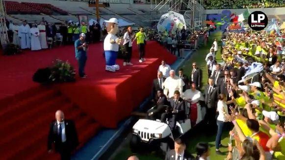 Los momentos destacados de la visita del papa Francisco a Panamá