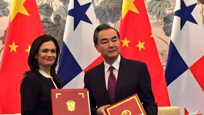 Taiwán, indignada por la decisión de Panamá de establecer relaciones con China