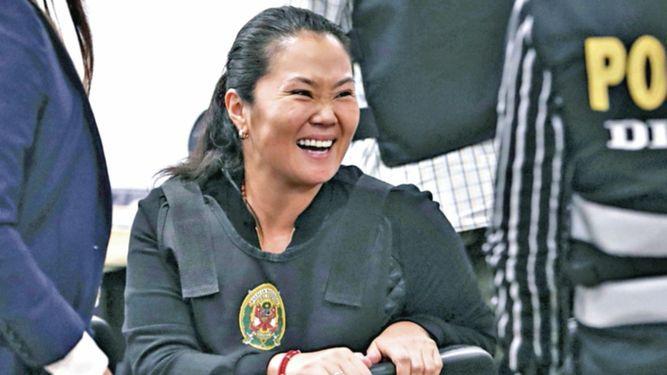 Tribunal decidirá el sábado apelación a prisión de Keiko Fujimori
