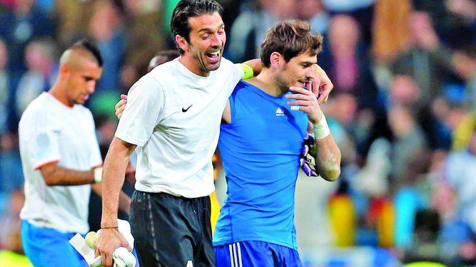 Casillas y Buffon, el duelo de octavos