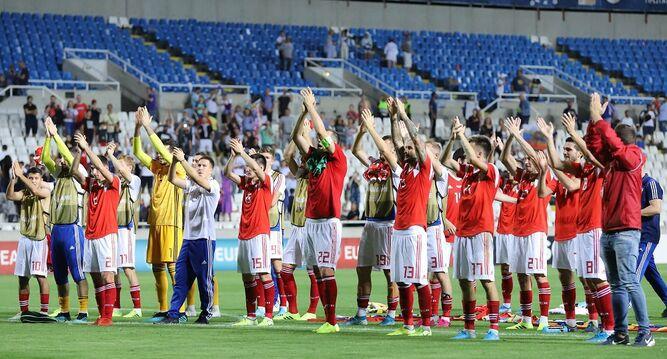 Rusia golea a Chipre y clasifica para la Eurocopa 2020