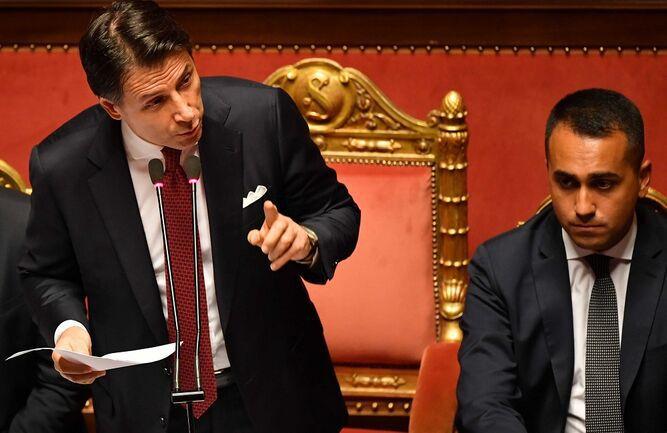 Giuseppe Conte anuncia que dimitirá como primer ministro de Italia