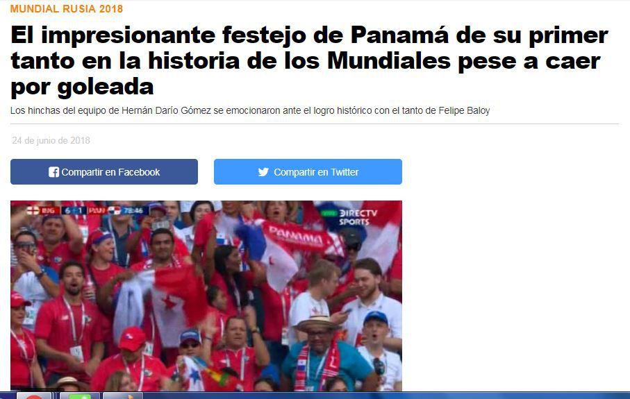 Gol de Felipe Baloy le da la vuelta al mundo