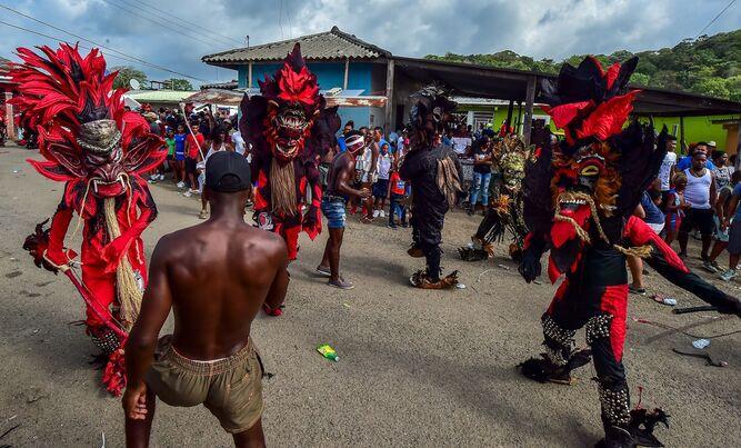 Congos de Panamá celebran ser patrimonio de la humanidad
