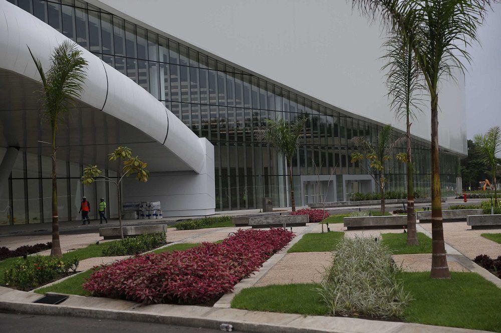Así se ve el Centro de Convenciones de Amador por dentro; registra un avance de 99%