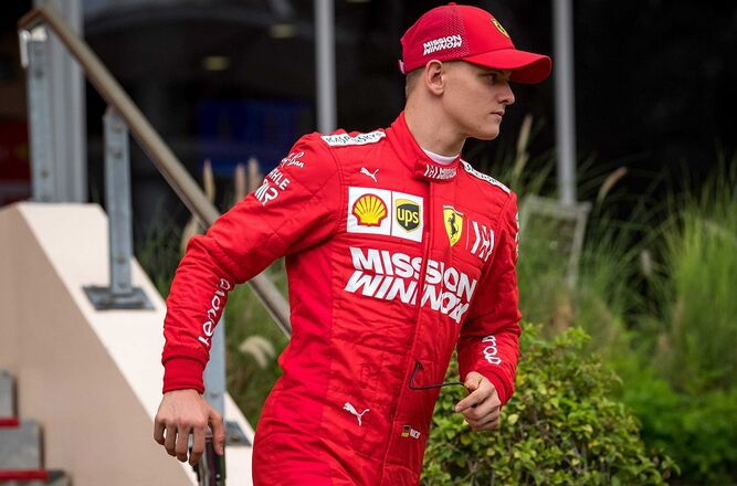 'Puertas que se abren', dice Mick Schumacher tras estreno con Ferrari