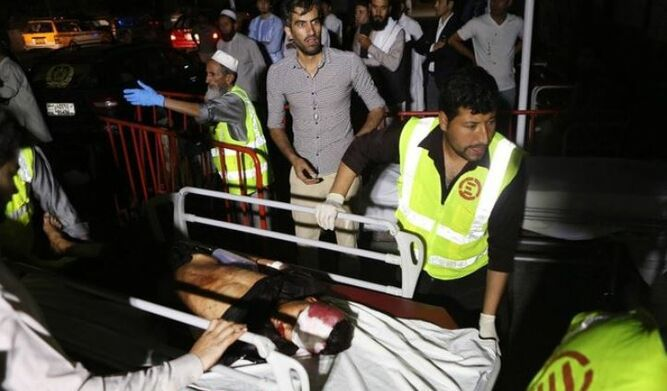 Al menos 63 muertos y 182 heridos por ataque durante una boda en Kabul