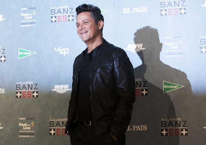 Grandes estrellas honrarán a Alejandro Sanz como Persona del Año