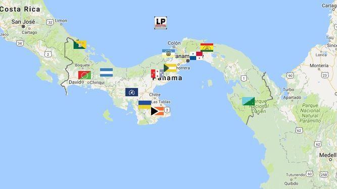 Mapa: Así se distribuye la población de Panamá
