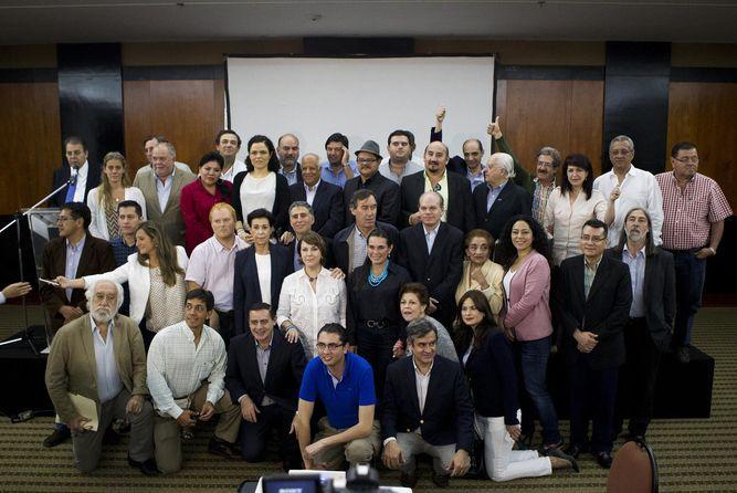 Oposición venezolana invitó 97 diputados internacionales como 'observadores'