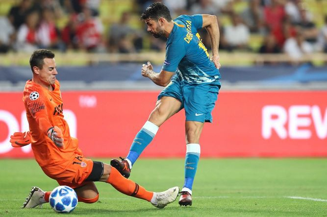 Atlético supera 2-1 al Mónaco
