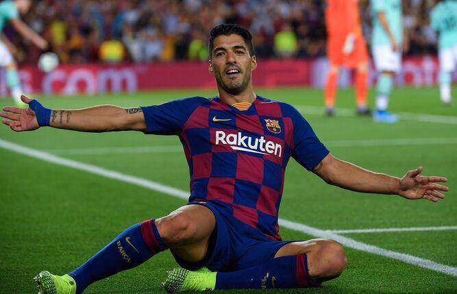 Suárez rescata al Barcelona con un doblete ante el Inter