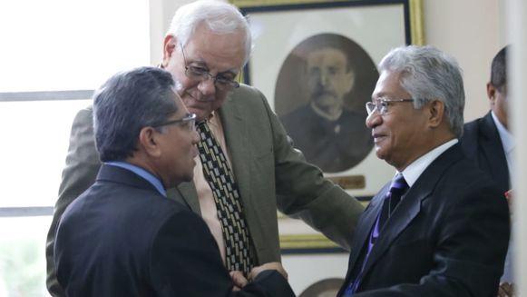 Mejía defiende la competencia para procesar a Martinelli; se reanuda la audiencia por espionaje