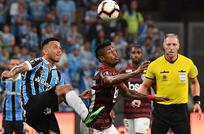 Gremio y Flamengo lo dejaron todo para el partido de vuelta