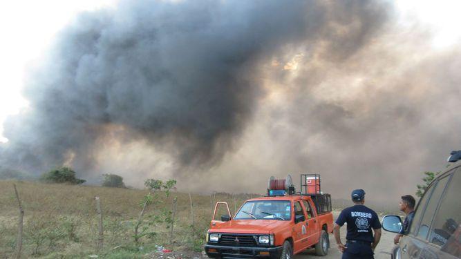 Nuevo incendio en vertedero de Chitré