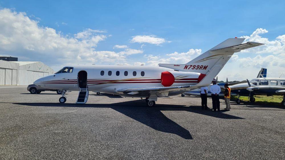 Guatemala secuestra avión de Martinelli, a solicitud de Estados Unidos