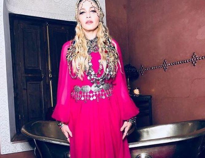 Madonna celebra en Marruecos su cumpleaños 60