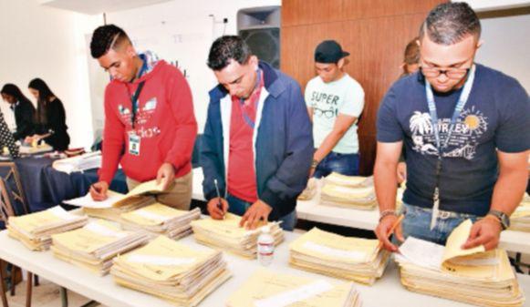 Tribunal Electoral revisó 2.9 millones de firmas