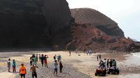Se derrumba uno de los célebres arcos en roca natural de Legzira, en Marruecos