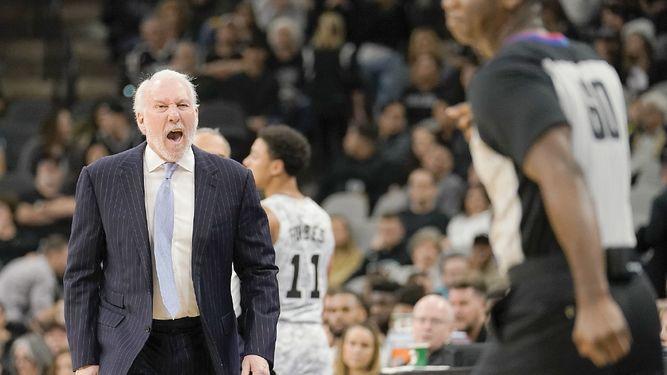 Gregg Popovich alarga su cadena de triunfos históricos en la NBA
