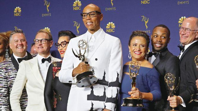 RuPaul empodera desde la televisión a 'drag queens'