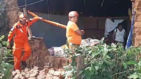 Dos viviendas afectadas tras sismo en Puerto Armuelles