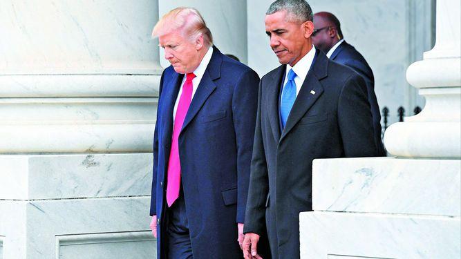 Trump dice que Obama lo espió