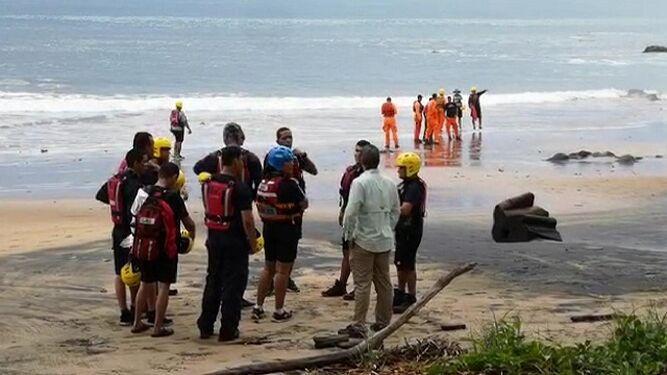 Encuentran cadáver de joven ahogado en la playa La Garita
