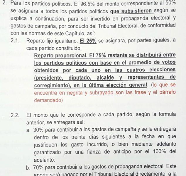 Una nueva demanda contra el 'Código Electoral' llega a la Corte Suprema