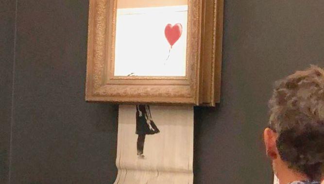 Todos están atentos a la subasta de tres obras de Banksy